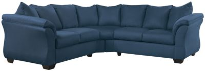 COLORS Sectional, Stone, Blue, swatch