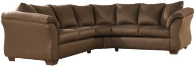 COLORS Sectional, Stone, Chocolate, swatch