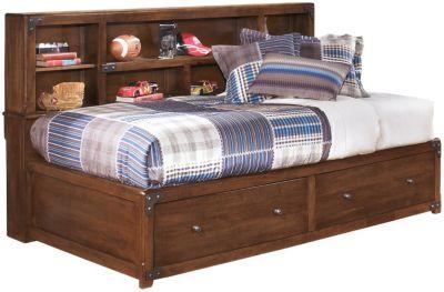 delburne full storage bed
