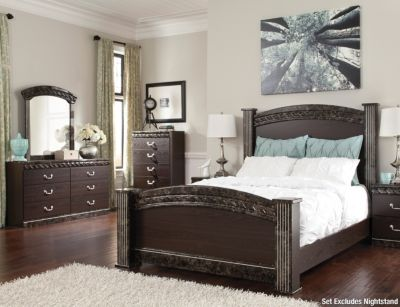 Amazing Vachel pc King Bedroom Set