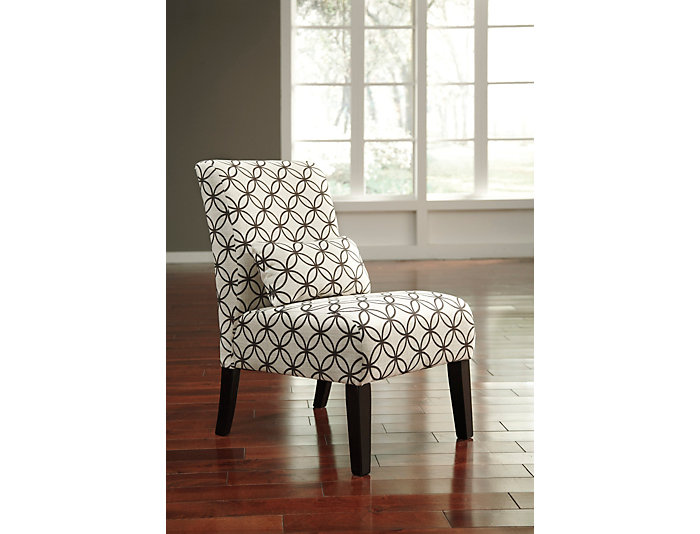 Ashley Furniture Annora Armless Accent Chair, Brown and Natural, , large