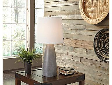 Hardin Grey Lamp (Set of 2), , large