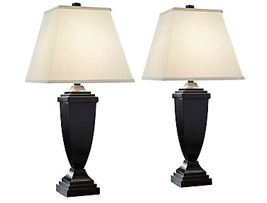 Clark 2-Pack Bronze Table Lamp, , large