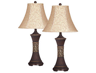 Billings Bronze Lamp Set of 2, , large