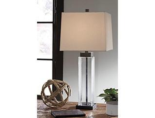 Burke Glass Table Lamp 2 Piece Set, , large