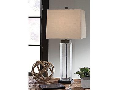Burke Glass Table Lamp (Set of 2), , large