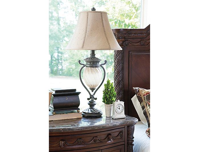 Helena Brown Lamp Set of 2, , large