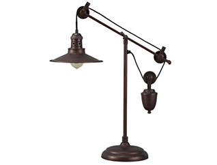 Broadus Bronze Desk Lamp, , large