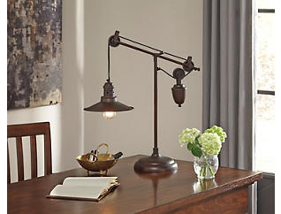 Broadus Bronze Desk Lamp, , large