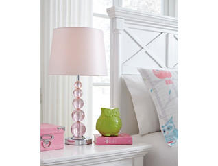 Crystal Pink Table Lamp, , large