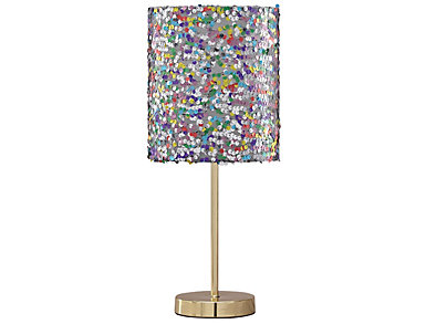 Multi Color Metal Table Lamp, , large