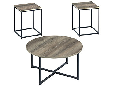 Winni 3 Piece Coffee Table Set, , large