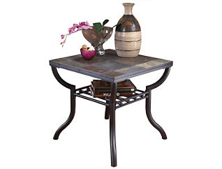 Angelli Square End Table, , large