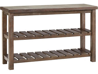 Daria Rustic Sofa Table, , large