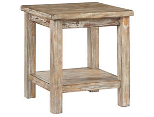 Daria Bisque End Table, , large