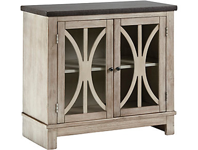 Daria Bisque Storage Cabinet, , large