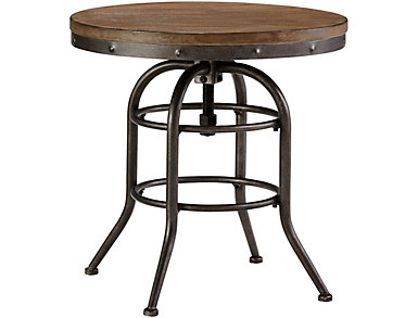 Daria Round End Table, , large