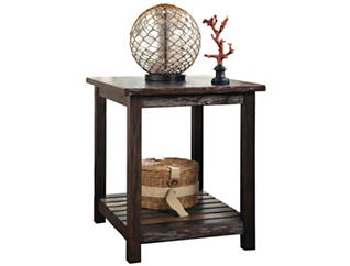 Leeann Brown End Table, , large