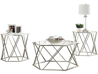 Maden 3 Pack Occasional Tables, , large