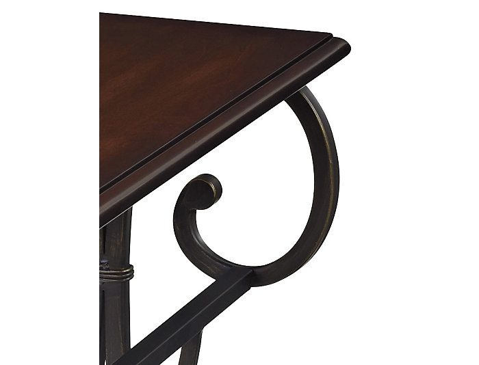 Valencia Chairside Table, Bronze, , large