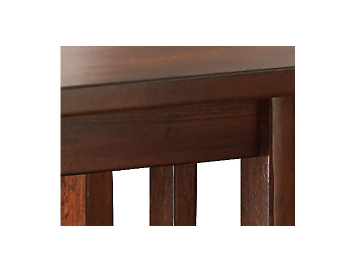 Clark Chairside Table, Brown, , large