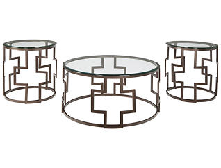 Frost 3 Pack Occasional Tables, , large