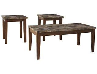 Leo 3 Pack Occasional Tables, , large