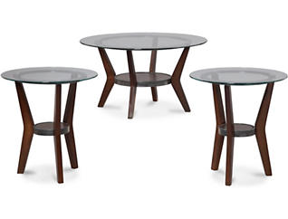 Fantell 3 Pack Occasional Tables, , large