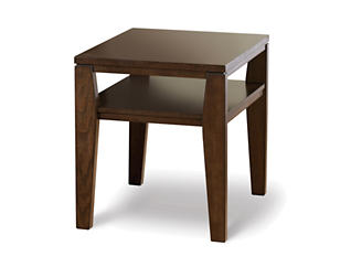 Deagan End Table, Merlot, , large