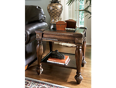 Mantera Brown Square End Table, , large