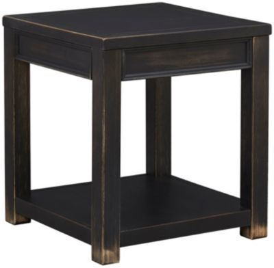 Safari Square End Table Art Van Furniture