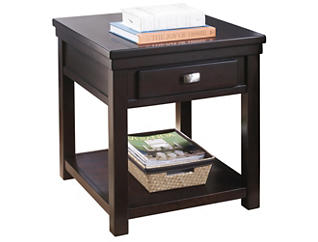 Hatsuko End Table, Brown, , large