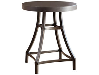 Starmore Round End Table, Brown, , large