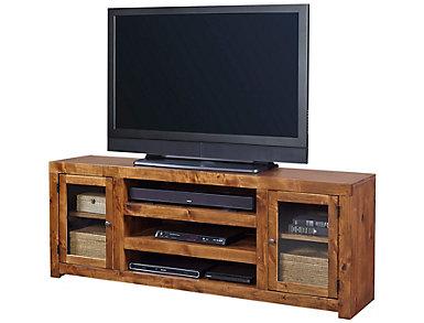 "Alder II 72"" Fruitwood TV Stand, , large"