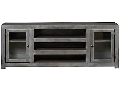 """Alder II 72"""" Grey TV Stand, , large"""