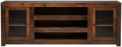 Dark Wood Tv Credenza : Tv stands with media storage by the classy home