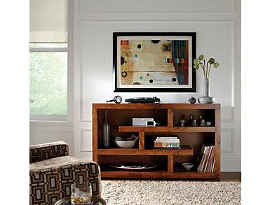 "Alder II 60"" Smokey Grey TV Stand, Grey, large"