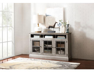 "Churchill 66"" Smokey Grey Highboy TV Stand, , large"