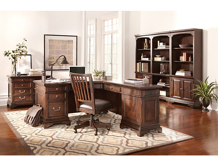 Essex Desk Chair, , large