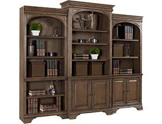 """Arcadia  78"""" Open Bookcase, , large"""