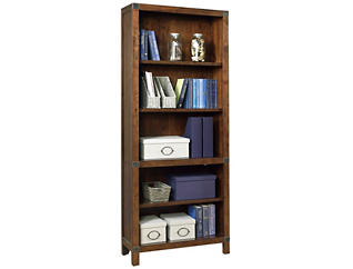 Canfield Open Bookcase, , large