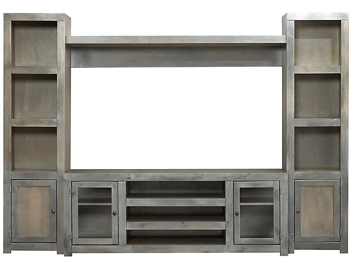 "Alder II Wall With 72"" Console, , large"
