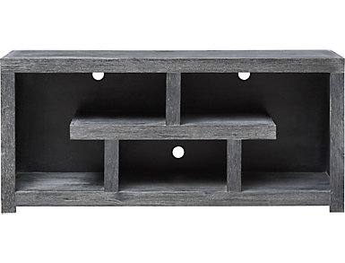 "Alder II 60"" Waxy Black TV Stand, , large"