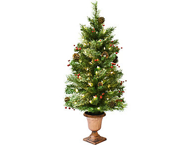3.5' Artificial Pre-Lit Tree, , large