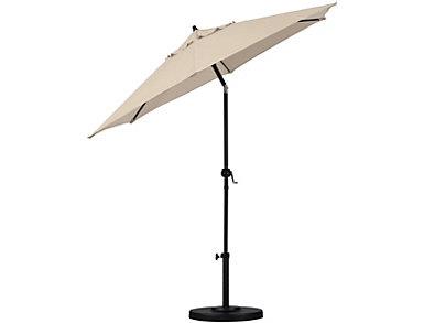 Bondi 9' Beige Umbrella, , large