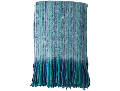 Blue Acrylic Throw, , large