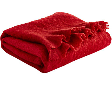 Red Acrylic Throw, , large