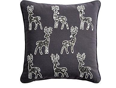 Deer Multi Applique Pillow, , large