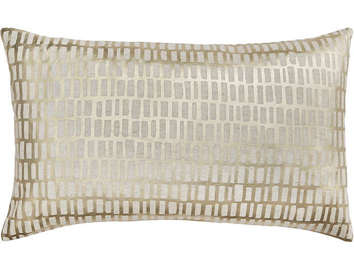 Gold Foil Pillow, , large