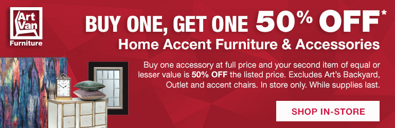 Buy One, Get One 50% Off Accessories